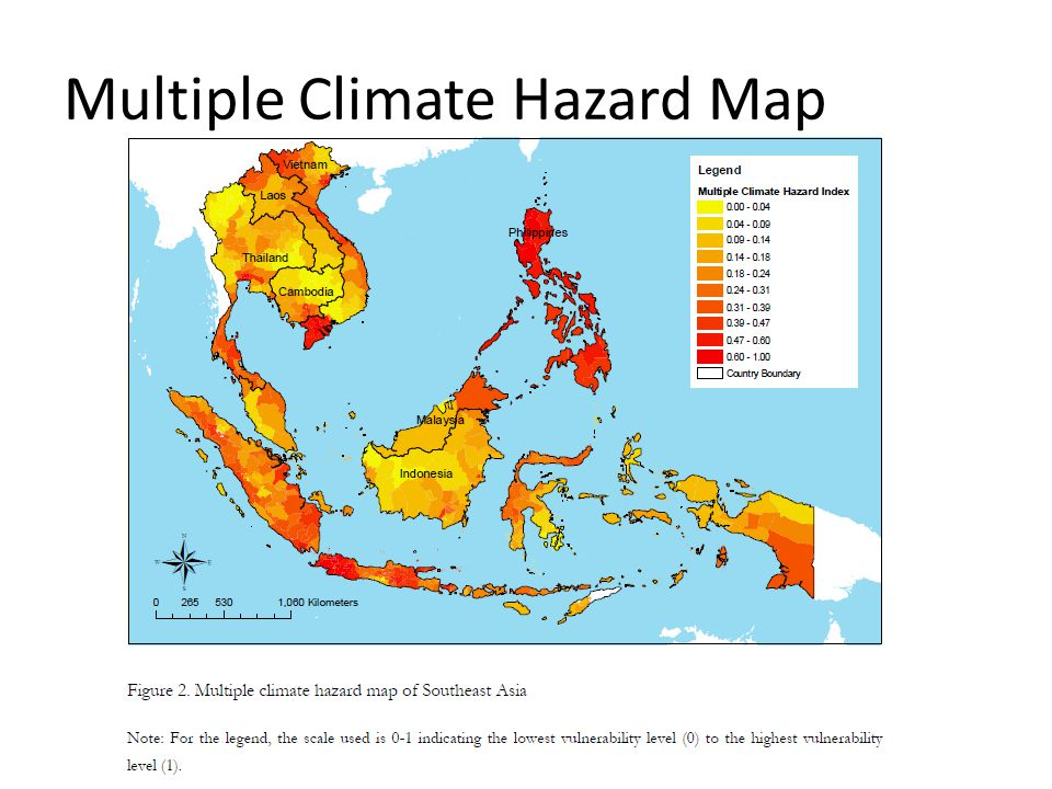 Multiple Climate Hazard Map