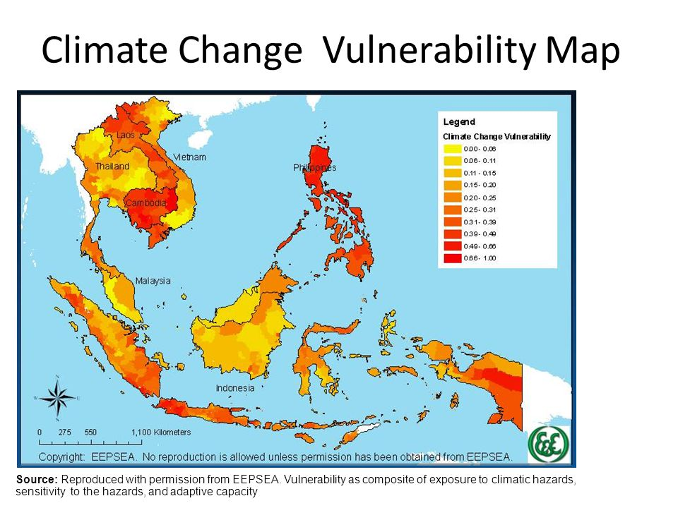 Climate Change Vulnerability Map