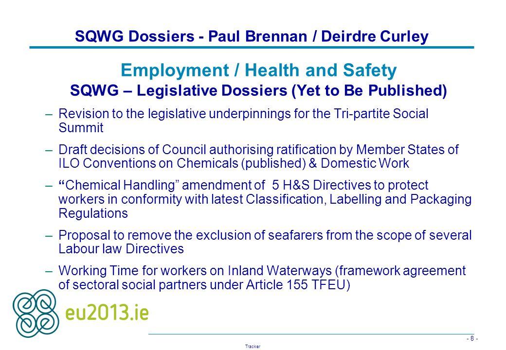 SQWG Dossiers - Paul Brennan / Deirdre Curley