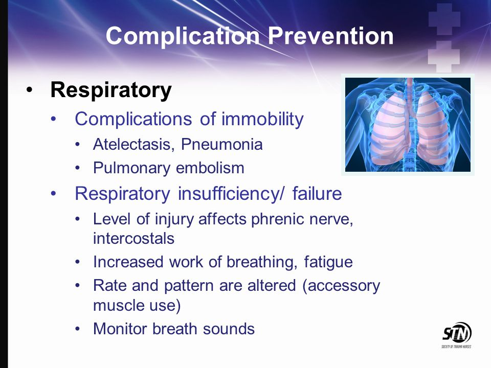 Complication Prevention