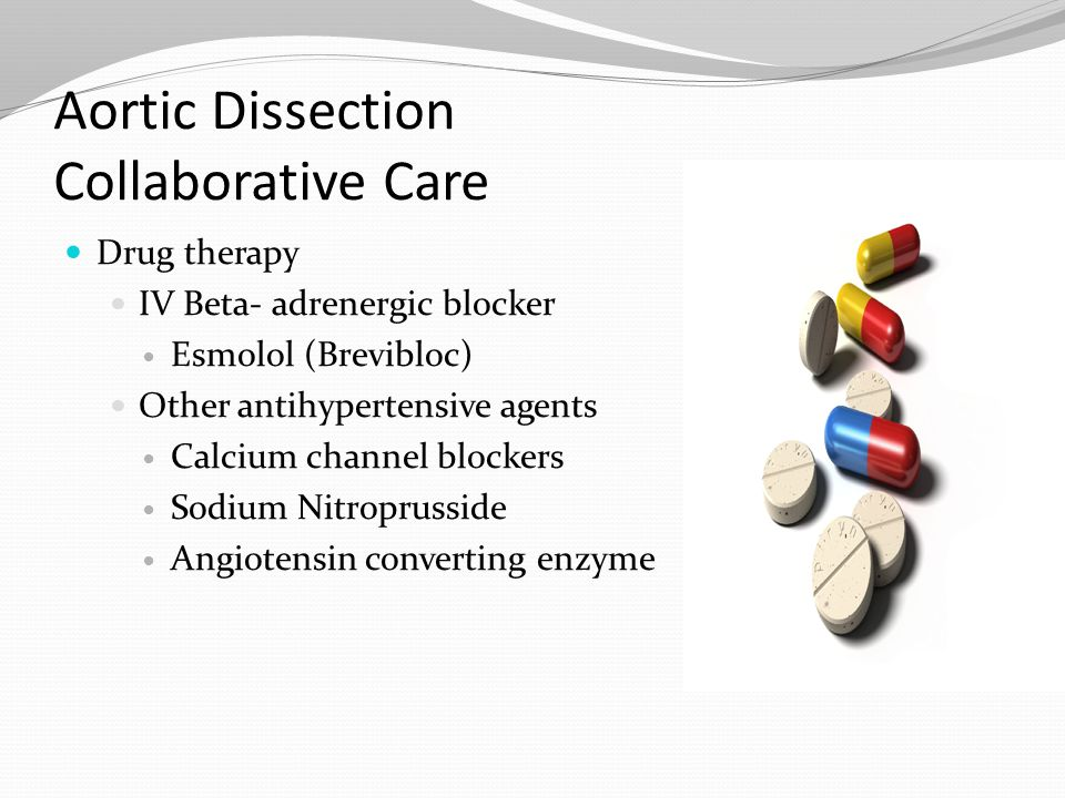 Aortic Dissection Collaborative Care
