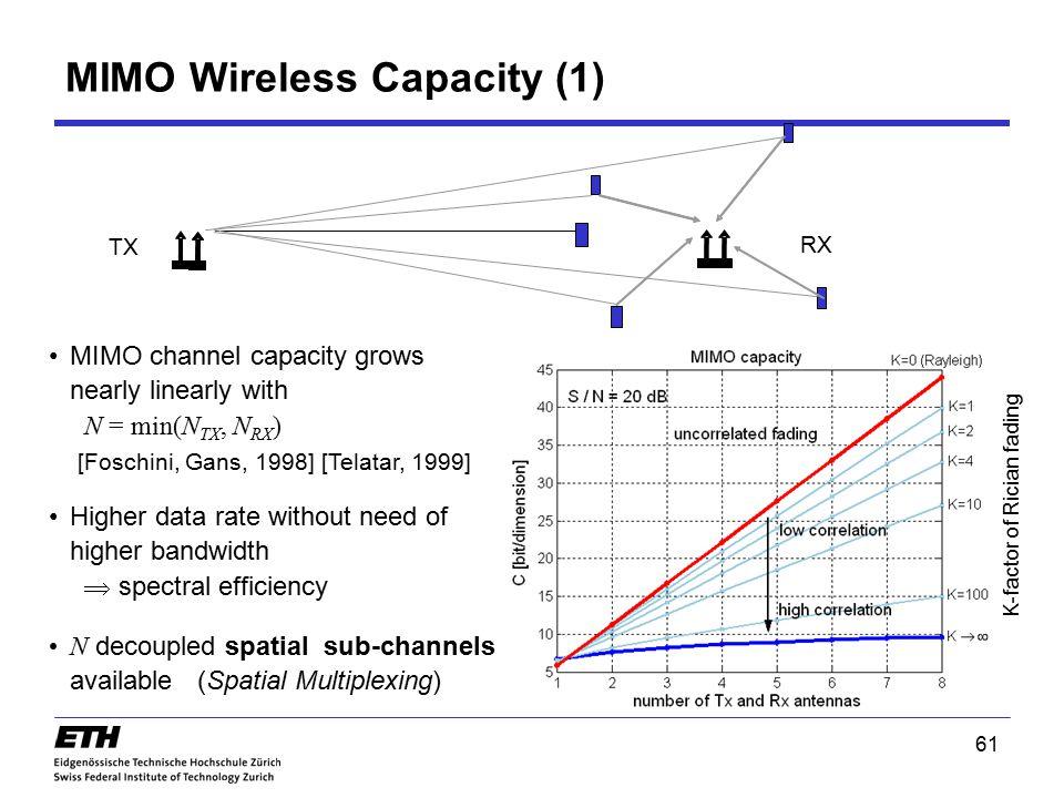 MIMO Wireless Capacity (1)