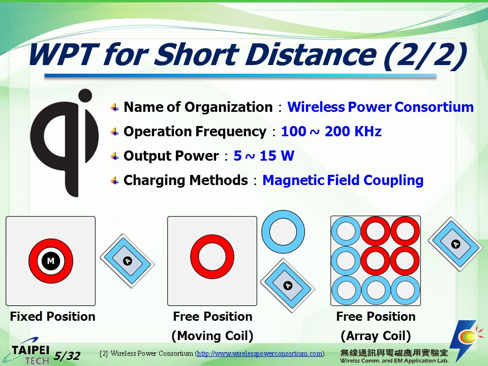 WPT for Short Distance (2/2)