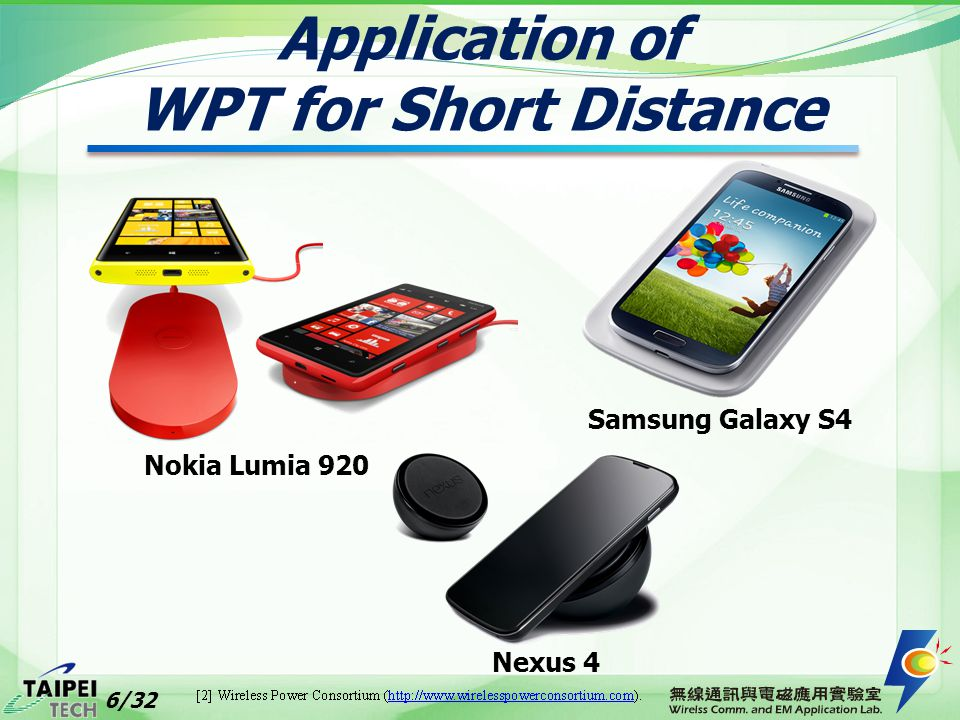 Application of WPT for Short Distance