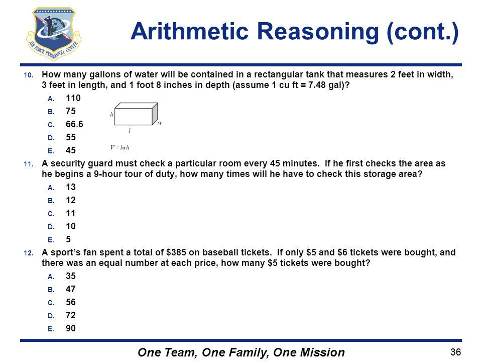 Arithmetic Reasoning (cont.)