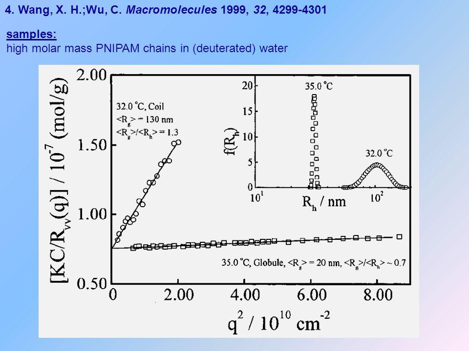 4. Wang, X. H.;Wu, C. Macromolecules 1999, 32, 4299-4301