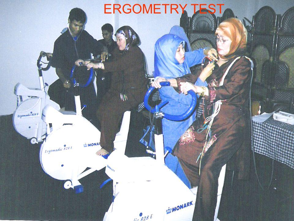 ERGOMETRY TEST