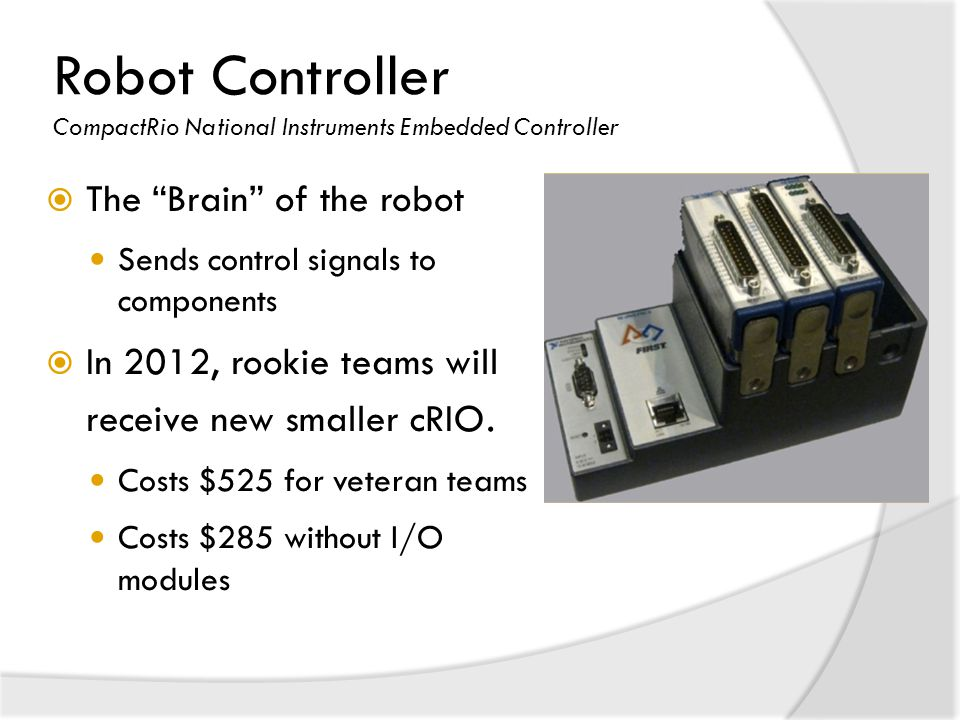 Robot Controller CompactRio National Instruments Embedded Controller