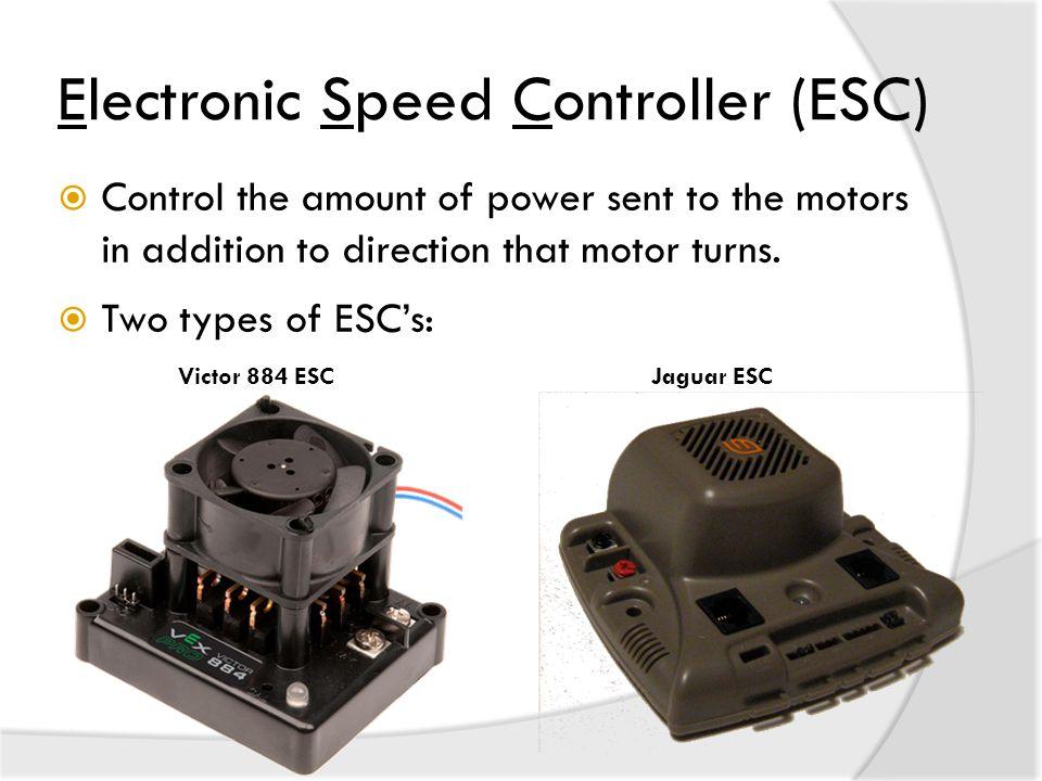 Electronic Speed Controller (ESC)