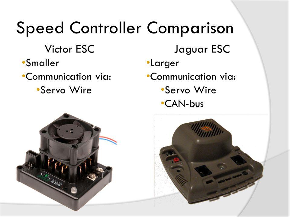 Speed Controller Comparison