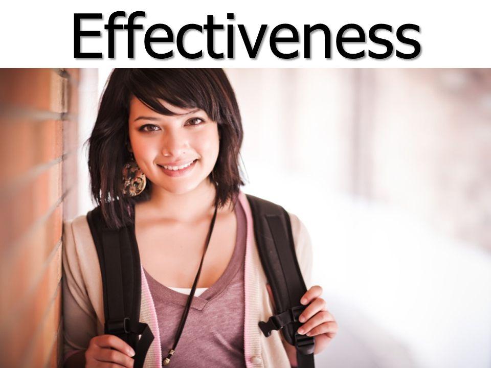 Effectiveness Effectiveness