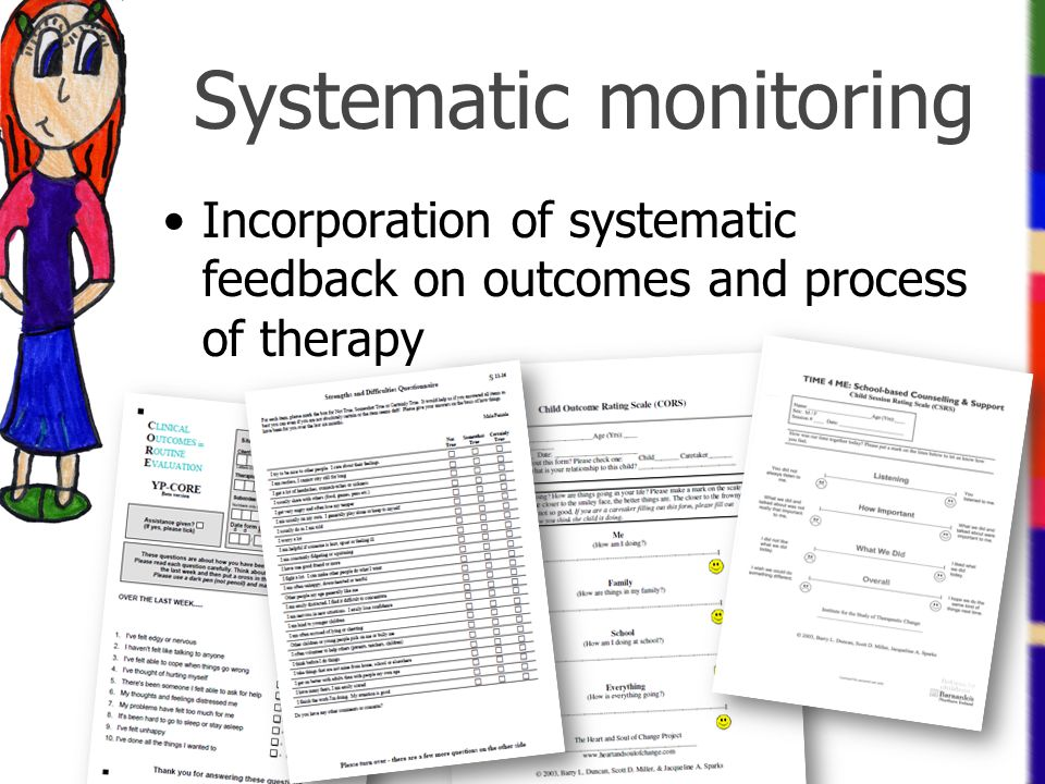 Systematic monitoring