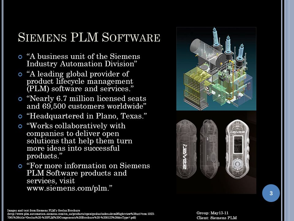 Siemens PLM Software A business unit of the Siemens Industry Automation Division