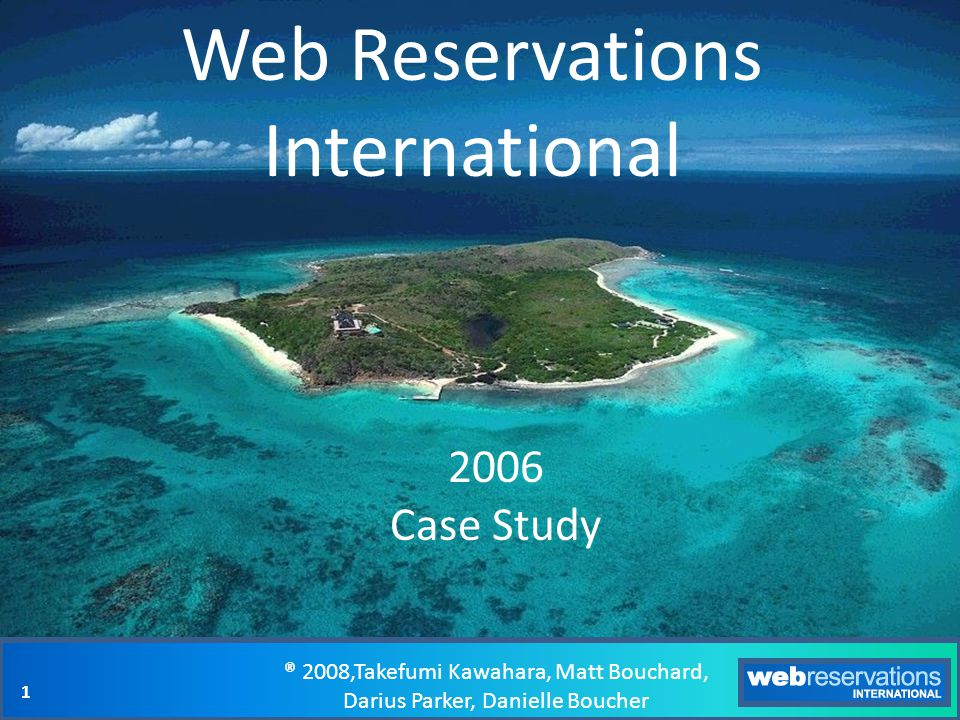Web Reservations International