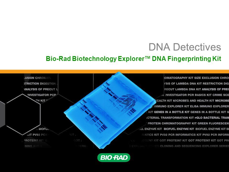 Bio-Rad Biotechnology Explorer™ DNA Fingerprinting Kit