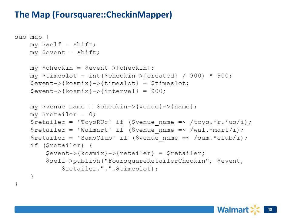The Map (Foursquare::CheckinMapper)