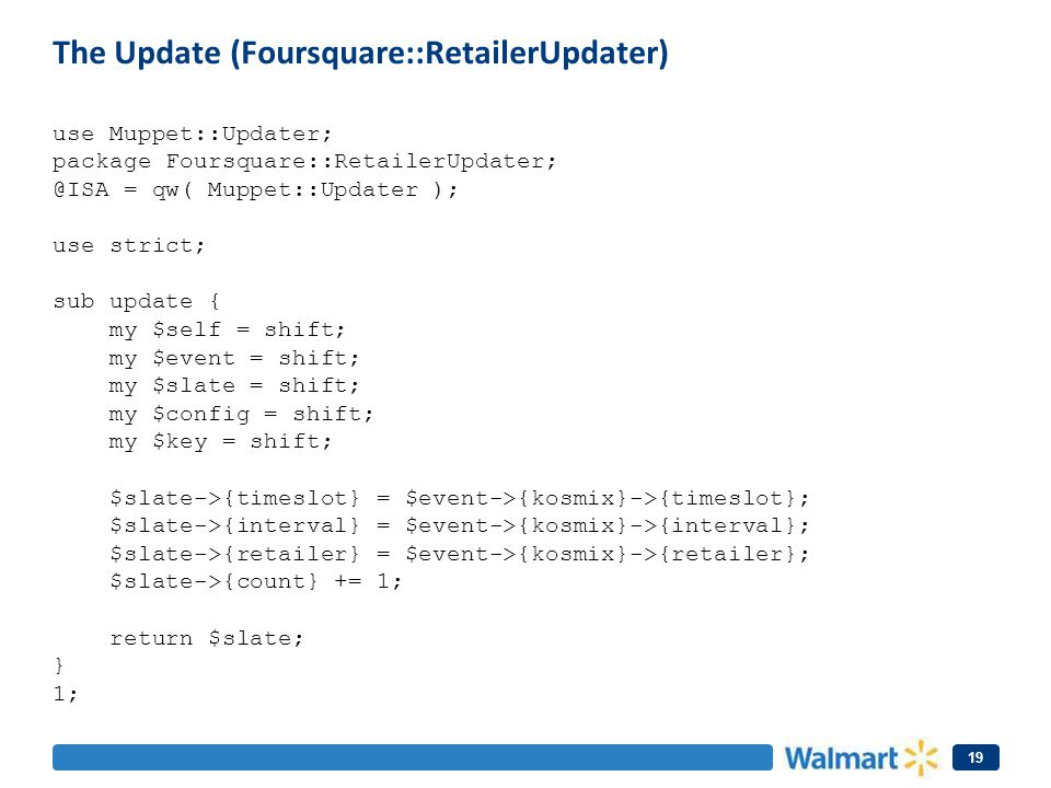 The Update (Foursquare::RetailerUpdater)