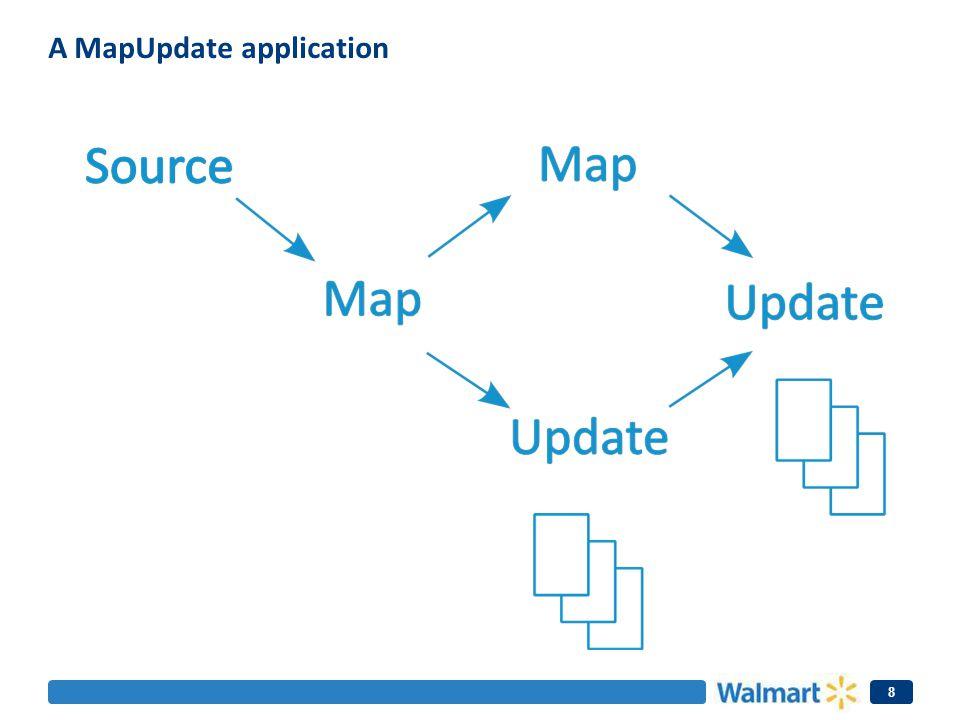 A MapUpdate application