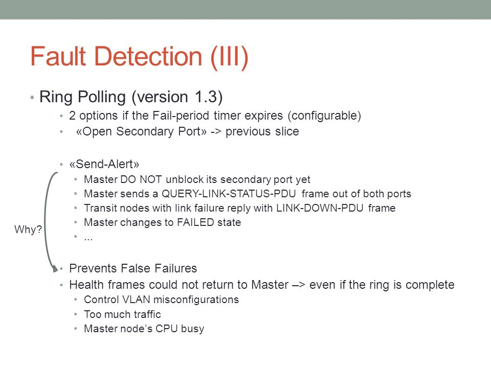 Fault Detection (III) Ring Polling (version 1.3)