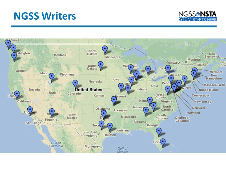 NGSS Writers