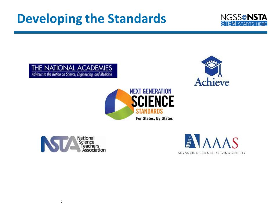Developing the Standards