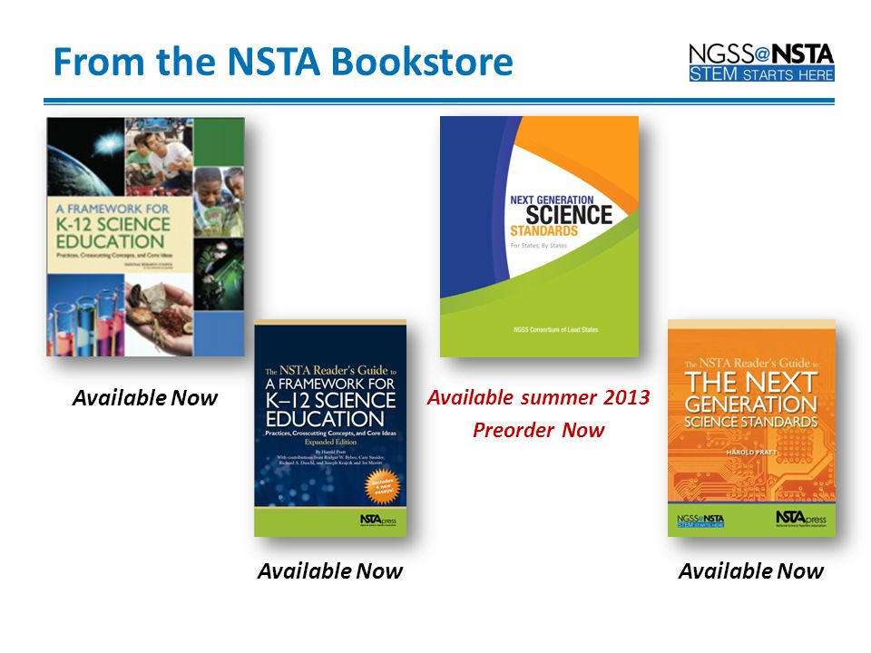 From the NSTA Bookstore