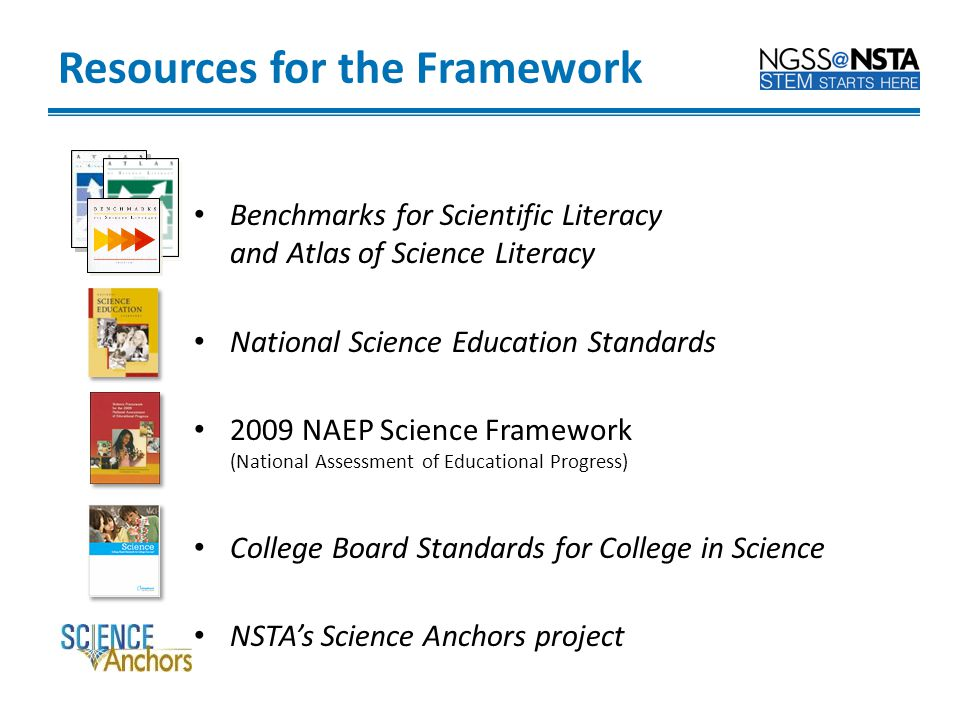 Resources for the Framework