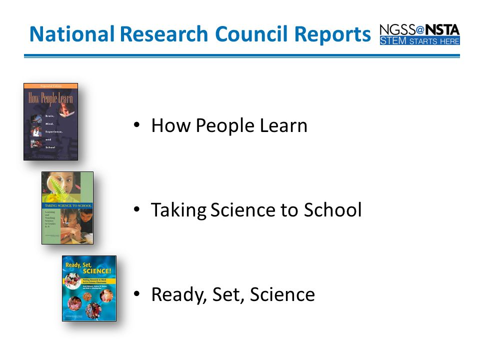National Research Council Reports