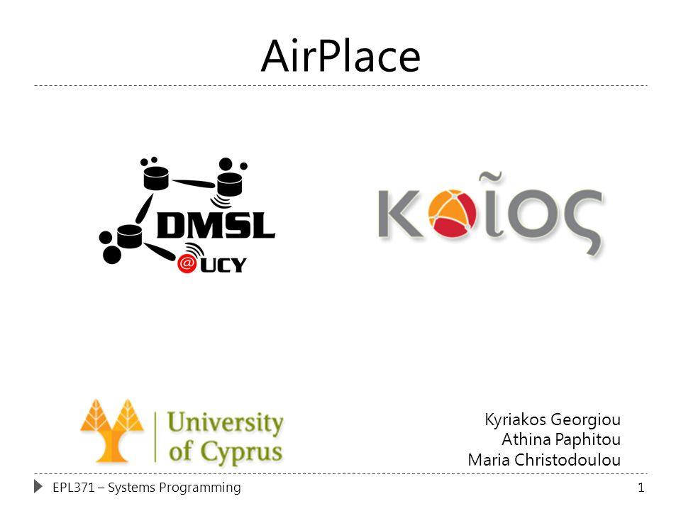 AirPlace Kyriakos Georgiou Athina Paphitou Maria Christodoulou