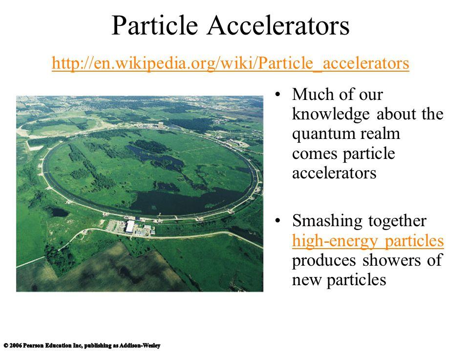 Particle Accelerators http://en. wikipedia