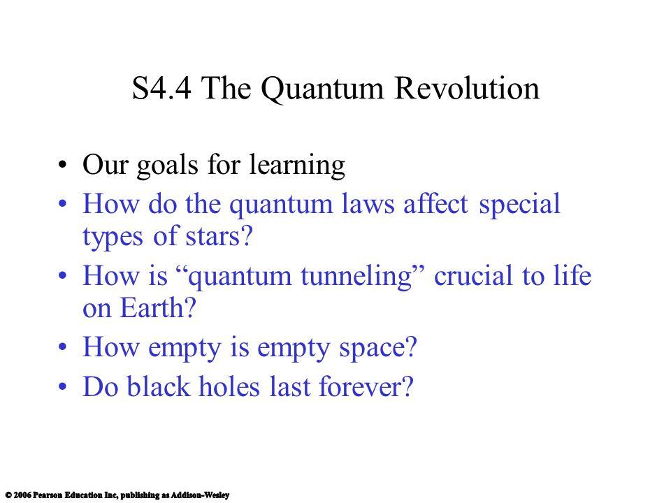 S4.4 The Quantum Revolution