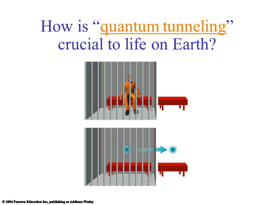 How is quantum tunneling crucial to life on Earth