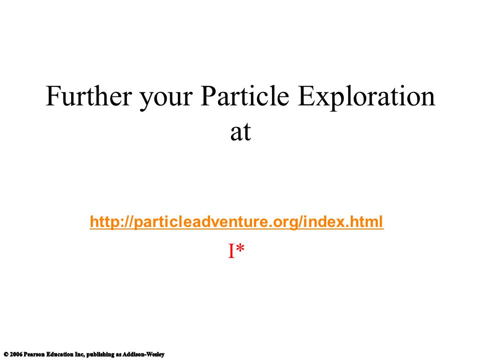 Further your Particle Exploration at