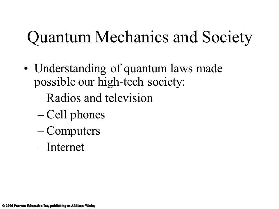 Quantum Mechanics and Society