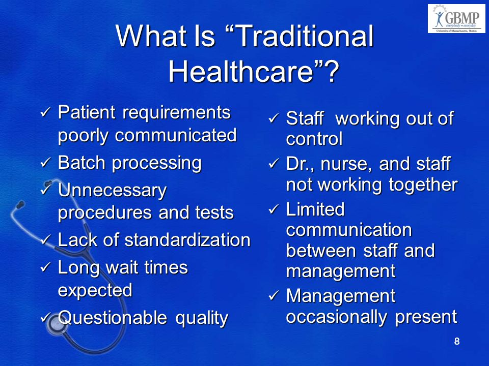What Is Traditional Healthcare