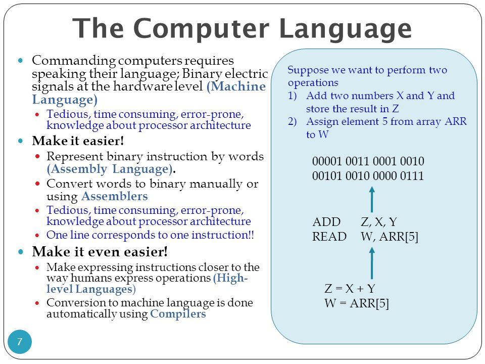 The Computer Language Make it even easier!