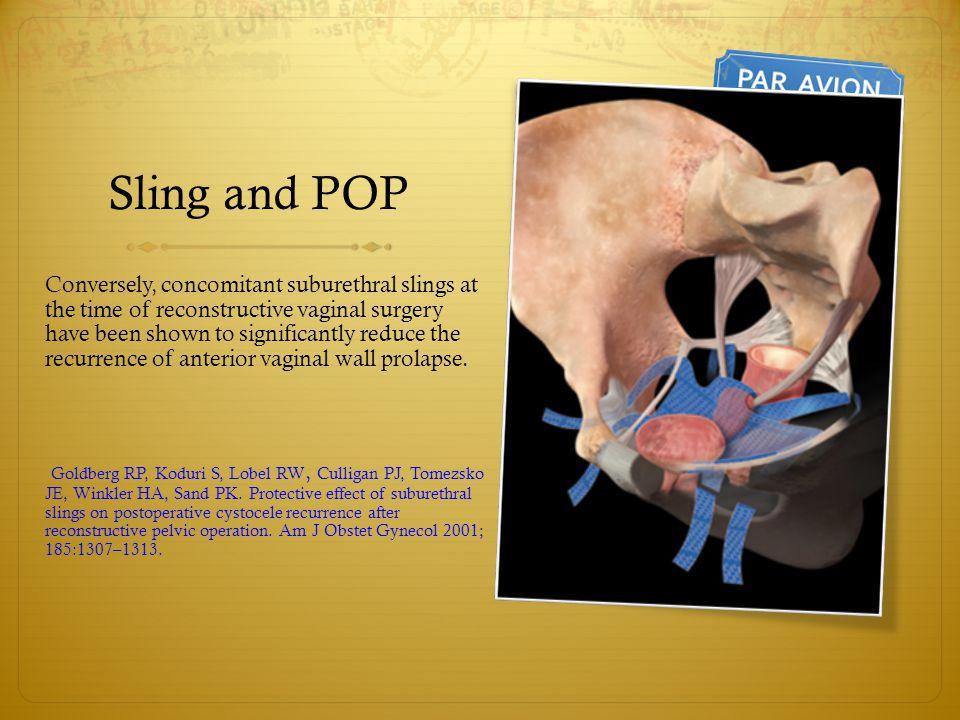 pelvic organ prolapse treatment guidelines