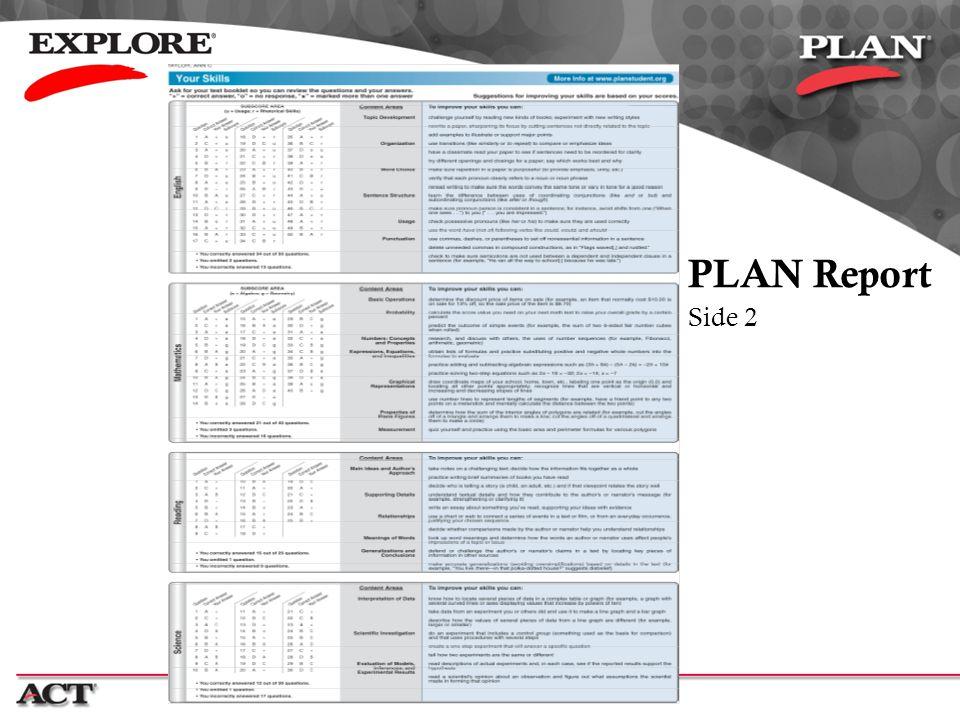 PLAN Report Side 2.