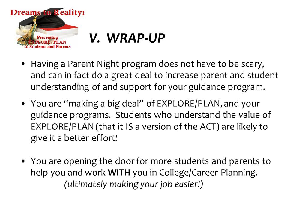 to Students and Parents - ppt download