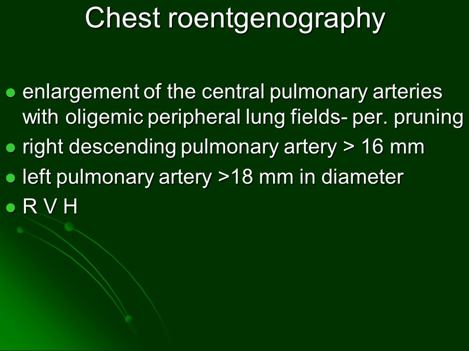 Chest roentgenography