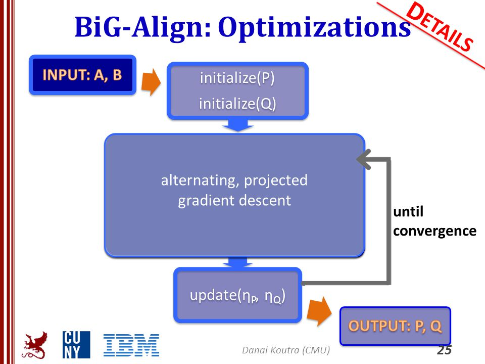 BiG-Align: Optimizations