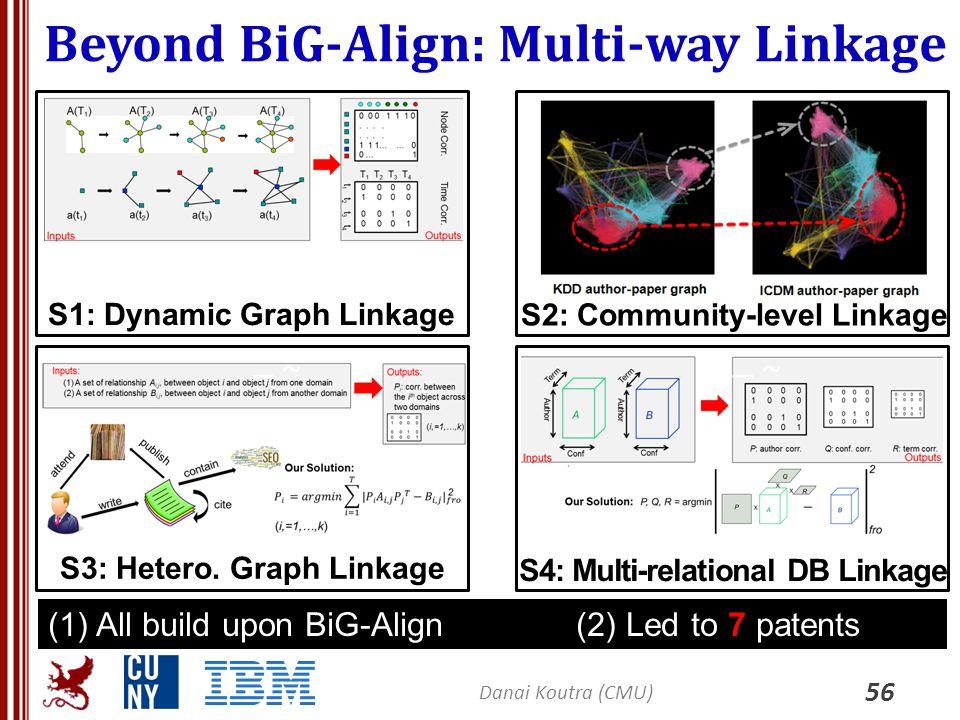 Beyond BiG-Align: Multi-way Linkage