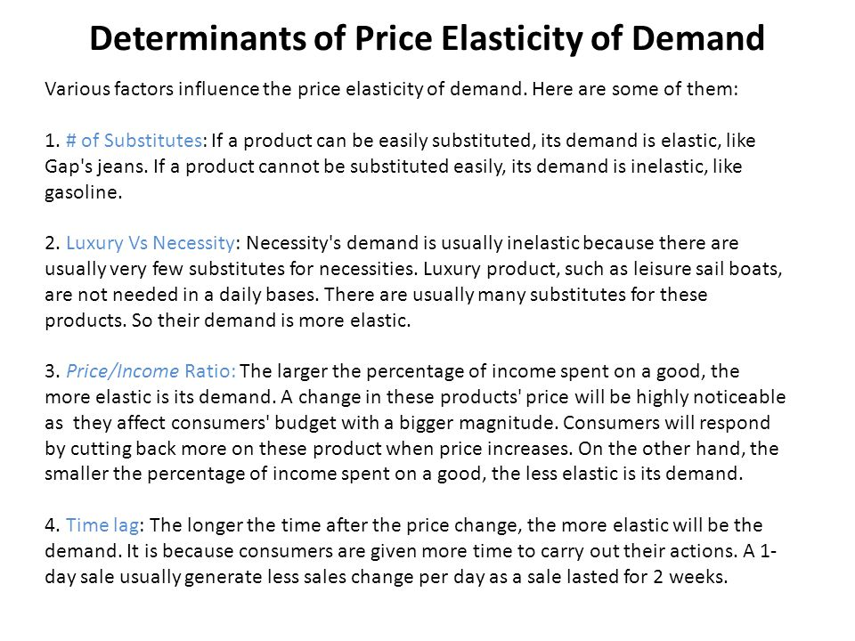 What Is Price Elasticity?