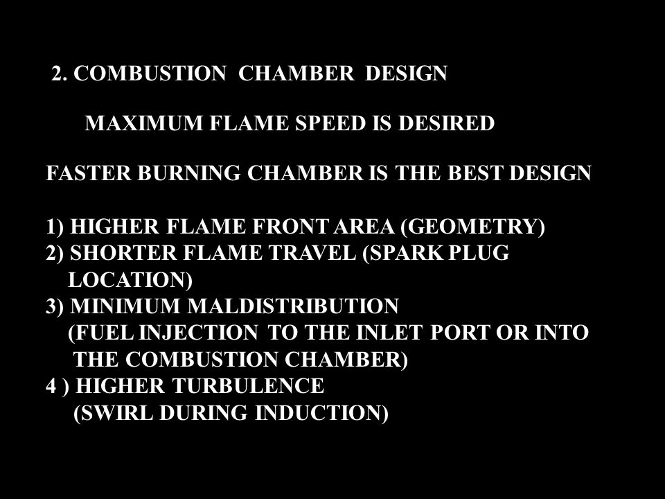 2. COMBUSTION CHAMBER DESIGN