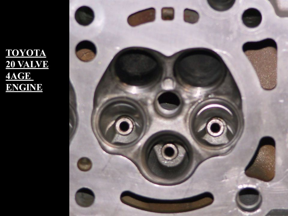 TOYOTA 20 VALVE 4AGE ENGINE
