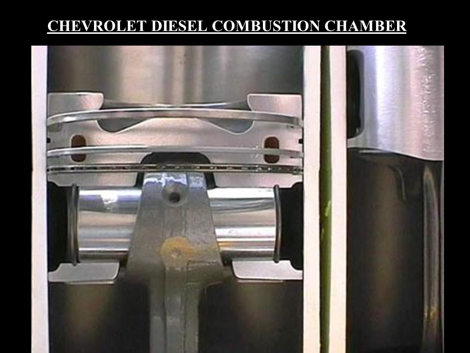 CHEVROLET DIESEL COMBUSTION CHAMBER