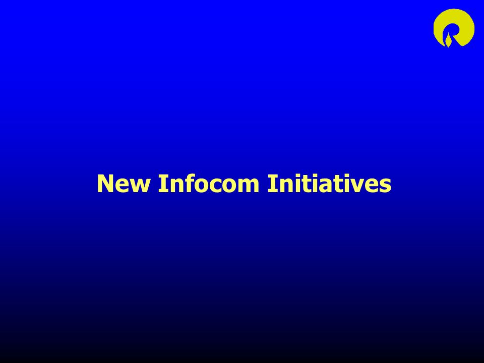 New Infocom Initiatives