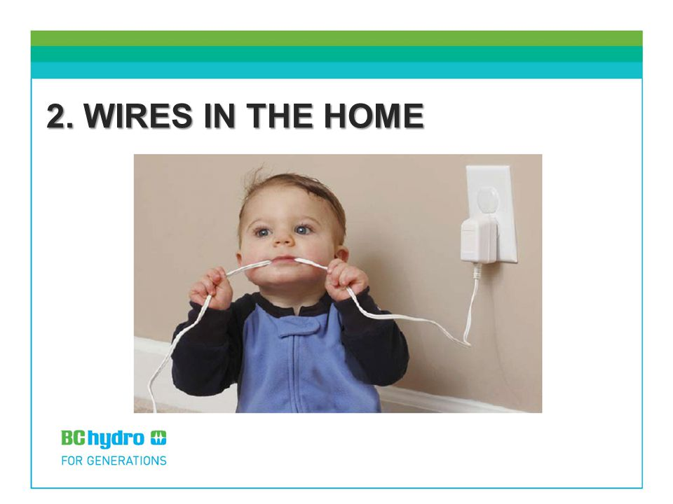 2. WIRES IN THE HOME