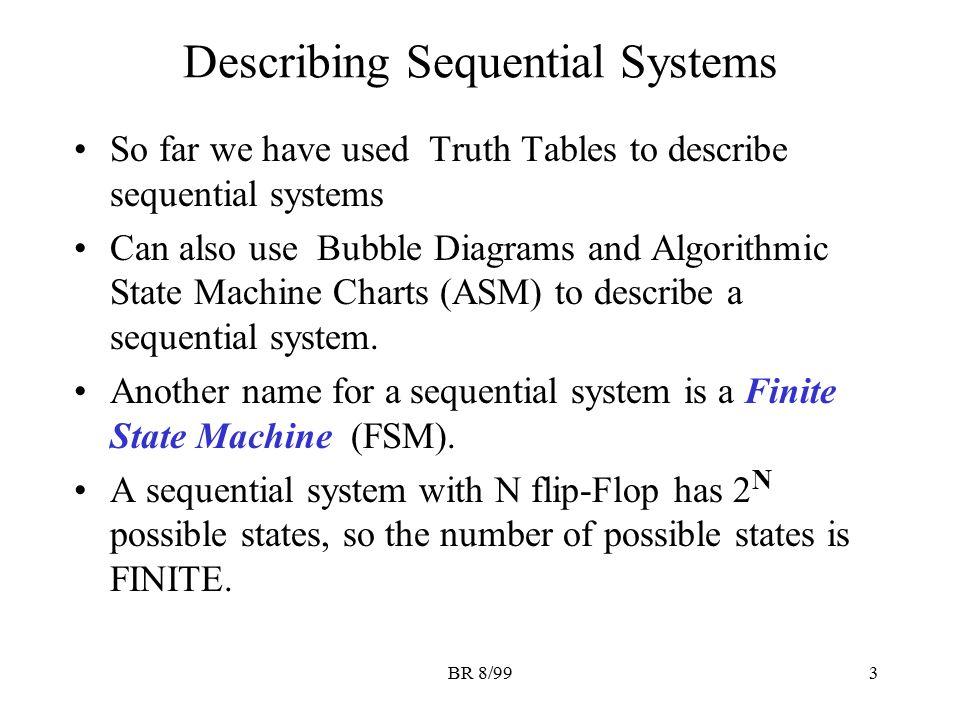 Describing Sequential Systems