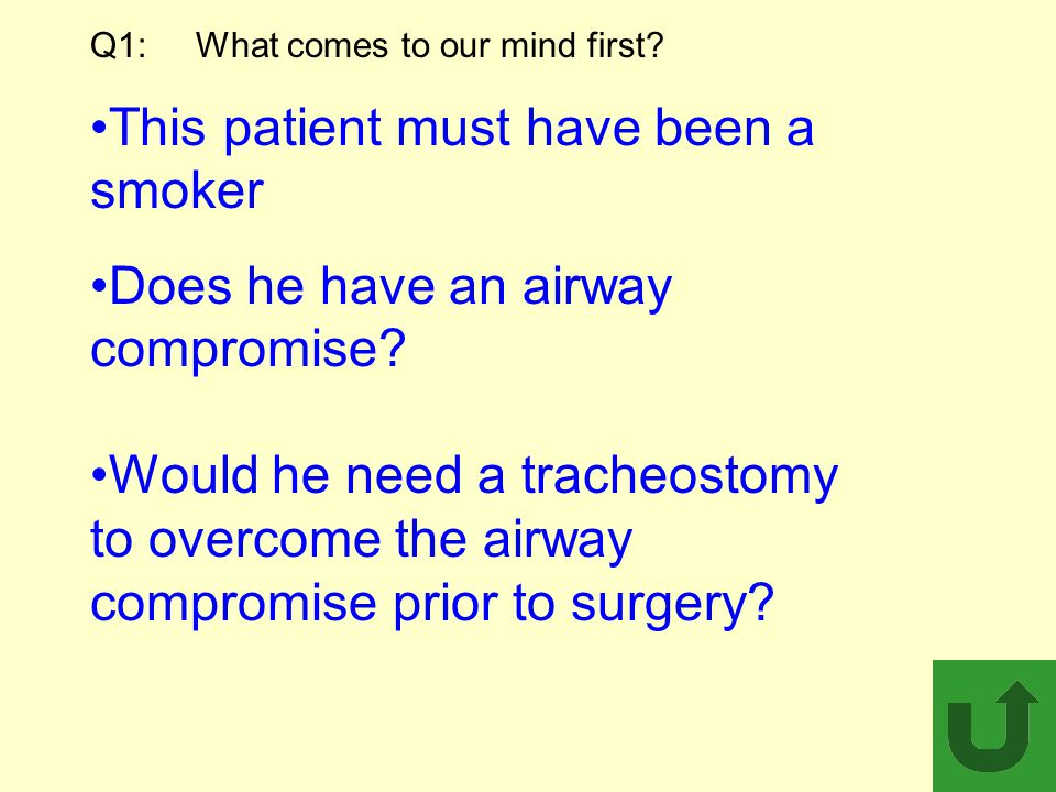 Q1: What comes to our mind first